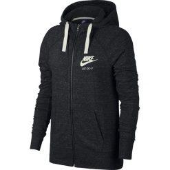 BLUZA W NSW GYM VNTG HOODIE FZ. Białe bluzy rozpinane damskie marki Nike, z bawełny. Za 179,99 zł.