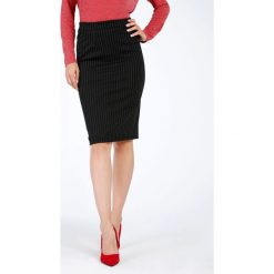 Spódniczki ołówkowe: Spódnica - 10-5318B NERO