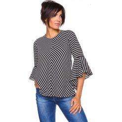 """T-shirty damskie: Koszulka """"Charlize"""" w kolorze czarno-białym"""