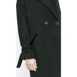 Vero Moda - Płaszcz Siena. Niebieskie płaszcze damskie marki Vero Moda, z bawełny. W wyprzedaży za 179,90 zł.