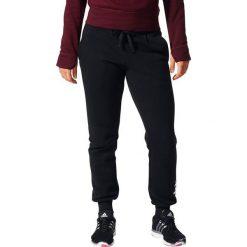 Spodnie dresowe damskie: Adidas Spodnie damskie Ess Lin Fl Pt czarne r. L (BK7065)