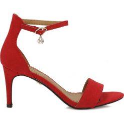 Sandały damskie: Czerwone sandały damskie