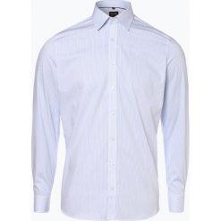 Olymp Level Five - Koszula męska łatwa w prasowaniu, niebieski. Niebieskie koszule męskie na spinki OLYMP Level Five, m, w paski. Za 199,95 zł.