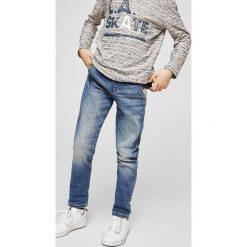 Mango Kids - Jeansy dziecięce Comfy 104-164 cm. Niebieskie jeansy męskie slim marki House, z jeansu. W wyprzedaży za 69,90 zł.