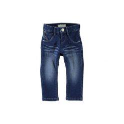 Name it Spodnie Jeans Ada medium blue denim. Niebieskie spodnie chłopięce Name it, z bawełny. Za 65,00 zł.
