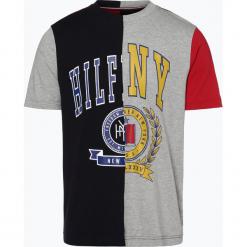 Tommy Hilfiger - T-shirt męski, szary. Szare t-shirty męskie z nadrukiem marki TOMMY HILFIGER, z bawełny. Za 179,95 zł.