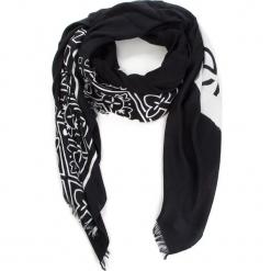 Chusta CALVIN KLEIN - Bandama Scarf K60K604909 001. Czarne chusty damskie Calvin Klein, z materiału. Za 229,00 zł.