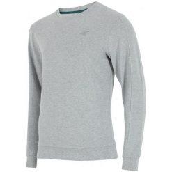 4F Męska Bluza H4Z17 blm001 Jasny Szary Melanż S. Niebieskie bluzy męskie rozpinane marki Oakley, na lato, z bawełny, eleganckie. W wyprzedaży za 69,00 zł.