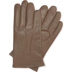 Rękawiczki męskie 44-6-638-0A. Brązowe rękawiczki męskie marki Wittchen, na zimę. Za 149,00 zł.