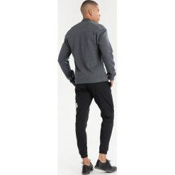 Adidas Performance Bluza rozpinana dark grey heather. Szare bluzy męskie rozpinane marki adidas Performance, m, z bawełny. W wyprzedaży za 251,40 zł.