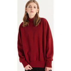 Bluza z półgolfem - Bordowy. Czerwone bluzy rozpinane damskie Sinsay. Za 59,99 zł.