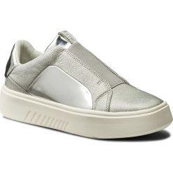 Sneakersy GEOX - D Nhenbus B D828DB 0KYBN C1007 Silver. Szare sneakersy damskie Geox, z gumy. W wyprzedaży za 299,00 zł.