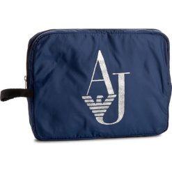 Kosmetyczka ARMANI JEANS - 922222 7P777 09934 Ocean Blu. Czarne kosmetyczki męskie marki Armani Jeans, z jeansu. W wyprzedaży za 149,00 zł.