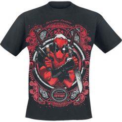 Deadpool Maximum Effort T-Shirt czarny. Czarne t-shirty męskie z nadrukiem Deadpool, xl, z okrągłym kołnierzem. Za 74,90 zł.