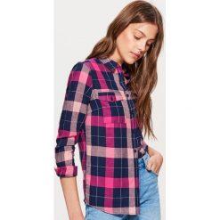 Koszula w kratę - Różowy. Czerwone koszule damskie marki Cropp, l. Za 49,99 zł.