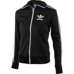 Bluza sportowa damska ADIDAS EUROPA TRACK TOP / AY8116. Szare topy sportowe damskie marki adidas Originals, na co dzień, z nadrukiem, z bawełny, casualowe, z okrągłym kołnierzem, proste. Za 229,00 zł.