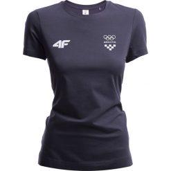 Bluzki damskie: Koszulka damska Chorwacja Pyeongchang 2018 TSD750 – grafit