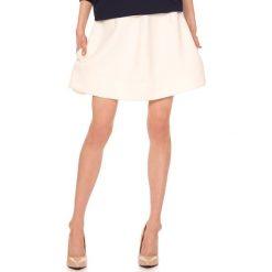 Minispódniczki: Spódnica w kolorze kremowym