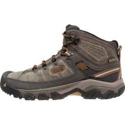 Keen TARGHEE III MID WP Buty trekkingowe black olive/golden brown. Zielone buty trekkingowe męskie Keen, z materiału, outdoorowe. Za 499,00 zł.