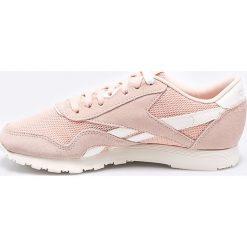 Reebok Classic - Buty CL Nylon Mesh M. Szare buty sportowe damskie reebok classic Reebok Classic, z gumy. W wyprzedaży za 159,90 zł.