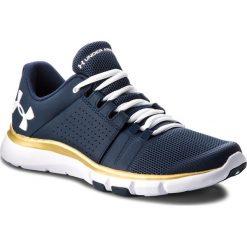 Buty UNDER ARMOUR - Ua Strive 7 Nm 3020750-400 Nvy. Niebieskie buty do biegania męskie marki Under Armour, z materiału. W wyprzedaży za 209,00 zł.