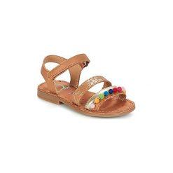 Sandały Dziecko  Shoo Pom  HAPPY POMPON. Brązowe sandały dziewczęce Shoo Pom. Za 195,30 zł.
