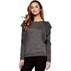 Kardigany damskie: Sweter z okrągłym dekoltem z dzianiny o cienkim splocie
