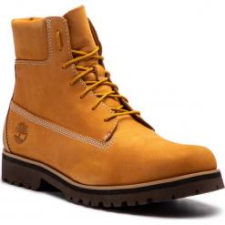 Trapery TIMBERLAND - Chilmark 6 Boot 0A1UTB Wheat. Brązowe glany męskie marki Timberland, z materiału. W wyprzedaży za 489,00 zł.
