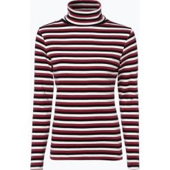 Brookshire - Damska koszulka z długim rękawem, czerwony. Czarne t-shirty damskie marki brookshire, m, w paski, z dżerseju. Za 59,95 zł.