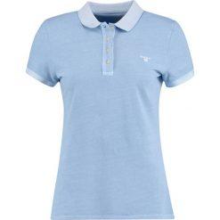 Bluzki damskie: GANT SUNBLEACHED Koszulka polo capri blue