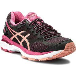 Buty ASICS - Gt-2000 4 T659N Black/Peach Melba/Sport Pink 9076. Czarne buty do biegania damskie Asics, z materiału. W wyprzedaży za 319,00 zł.