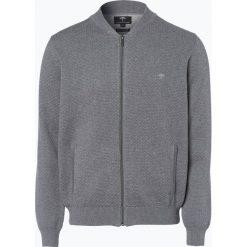 Swetry rozpinane męskie: Fynch Hatton – Kardigan męski, szary
