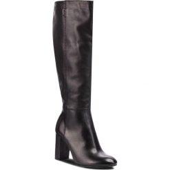 Buty zimowe damskie: Kozaki NESSI - 91106 Czarny 16