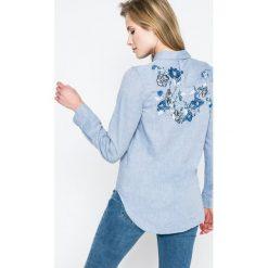 Haily's - Koszula. Szare koszule damskie marki Haily's, l, z bawełny, casualowe, z klasycznym kołnierzykiem, z długim rękawem. W wyprzedaży za 69,90 zł.