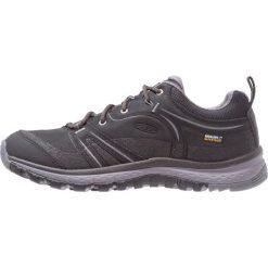 Keen TERRADORA WP Obuwie hikingowe black/steel grey. Szare buty sportowe damskie Keen, z materiału, outdoorowe. W wyprzedaży za 349,30 zł.
