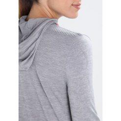 Bluzy rozpinane damskie: KariTraa KRISTINA  Bluza grey/melange