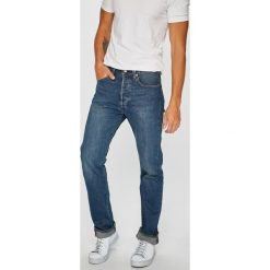 Levi's - Jeansy 501. Brązowe jeansy męskie regular marki LIGNE VERNEY CARRON, m, z bawełny. Za 329,90 zł.