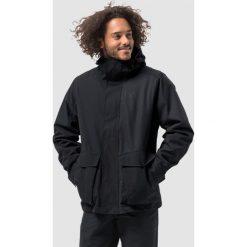 Kurtki sportowe męskie: Jack Wolfskin Kurtka męska Falster Harbour Jacket czarna r. XL