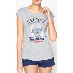 Piżamy damskie: Bawełniana piżama ze wzorem Calimero