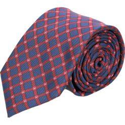 Krawat makrowzór czerwony 100. Czerwone krawaty męskie Recman. Za 49,00 zł.