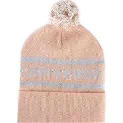Czapka CONVERSE - 562308 Dusk Pink. Brązowe czapki zimowe damskie Converse, z materiału. Za 89,00 zł.