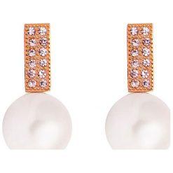 Kolczyki damskie: Kolczyki-wkrętki z perłami syntetycznymi