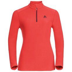 Odlo Bluza damska Midlayer 1/2 zip Le Tour pomarańczowa r. S (222011/32000/S). Czarne bluzy sportowe damskie marki DOMYOS, z elastanu. Za 147,44 zł.