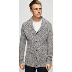 Mango Man - Sweter Texas. Szare swetry klasyczne męskie marki Mango Man, l, z bawełny. W wyprzedaży za 99,90 zł.