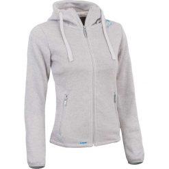 Bluzy rozpinane damskie: Woox Bluza damska Fleece Polar | Tune Fleece Zip Ash biała r. 44