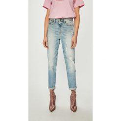 Tommy Hilfiger - Jeansy Gramercy. Niebieskie jeansy damskie z wysokim stanem TOMMY HILFIGER. Za 599,90 zł.