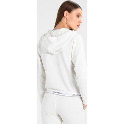 T-shirty damskie: Calvin Klein Underwear FULL ZIP HOODIE Koszulka do spania snow heather