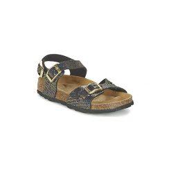 Sandały Dziecko  Betula Original Betula Fussbett  JEAN. Żółte sandały dziewczęce marki Betula Original Betula Fussbett. Za 183,20 zł.