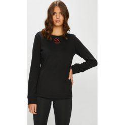 Calvin Klein Performance - Bluza. Czarne bluzy z kieszeniami damskie marki Only Play, l, z bawełny, bez kaptura. Za 299,90 zł.