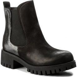 Sztyblety SERGIO BARDI - Caivano FW127255217AG 428. Czarne buty zimowe damskie marki Sergio Bardi, z materiału, na obcasie. W wyprzedaży za 239,00 zł.